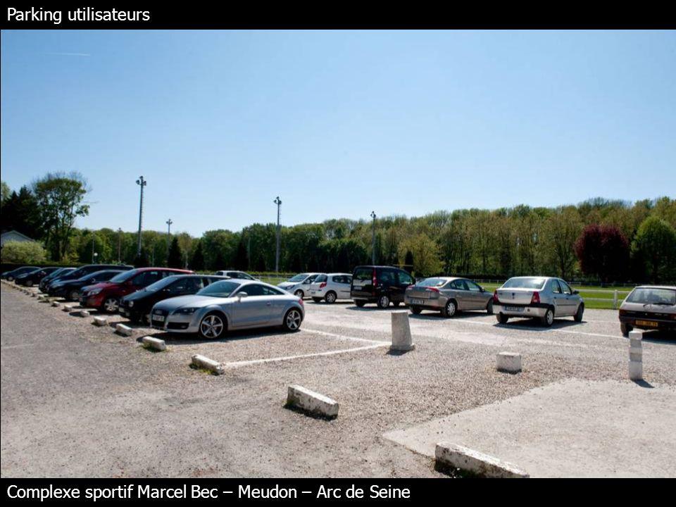 Parking utilisateurs Complexe sportif Marcel Bec – Meudon – Arc de Seine
