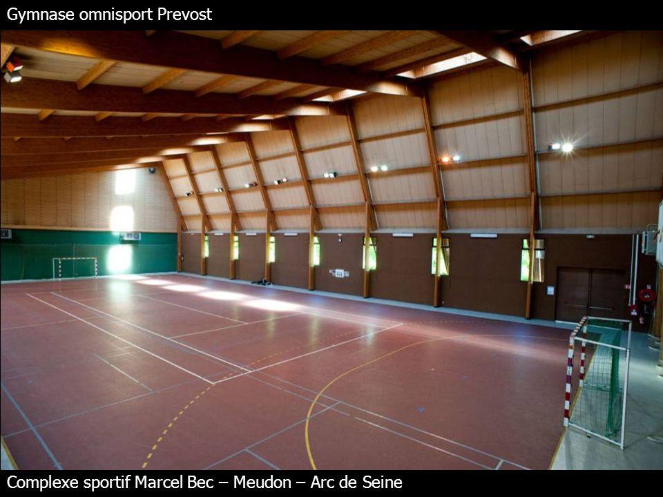 Entrée des gymnases Complexe sportif Marcel Bec – Meudon – Arc de Seine