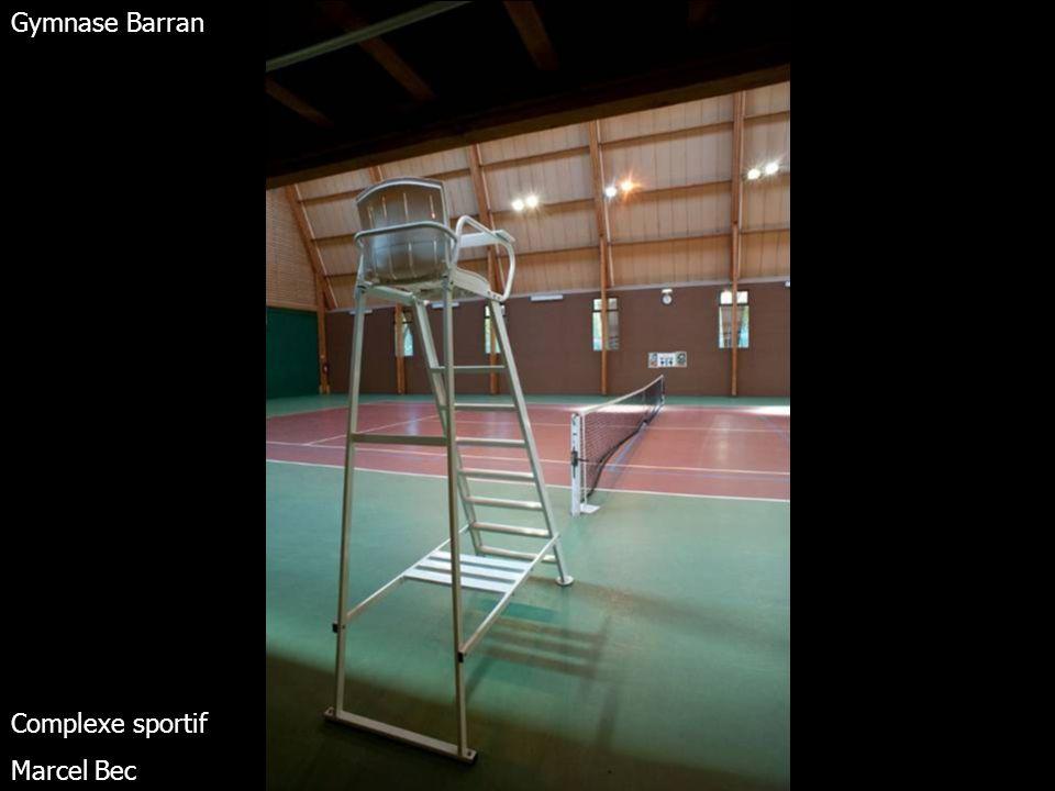 Terrains de tennis extérieurs Complexe sportif Marcel Bec – Meudon – Arc de Seine