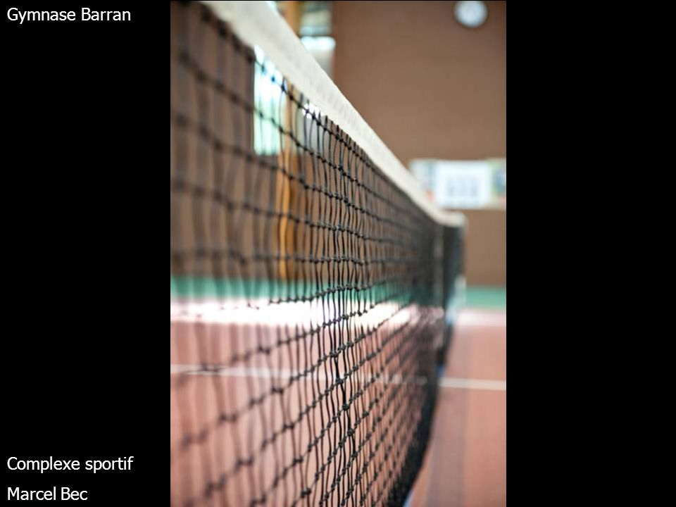 Terrains de tennis extérieurs Complexe sportif Marcel Bec