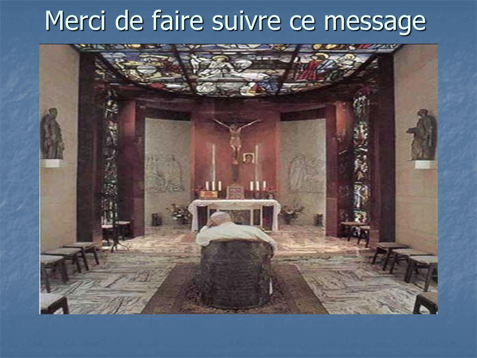 Jean Paul II 3 ème anniversaire de son retour à Dieu