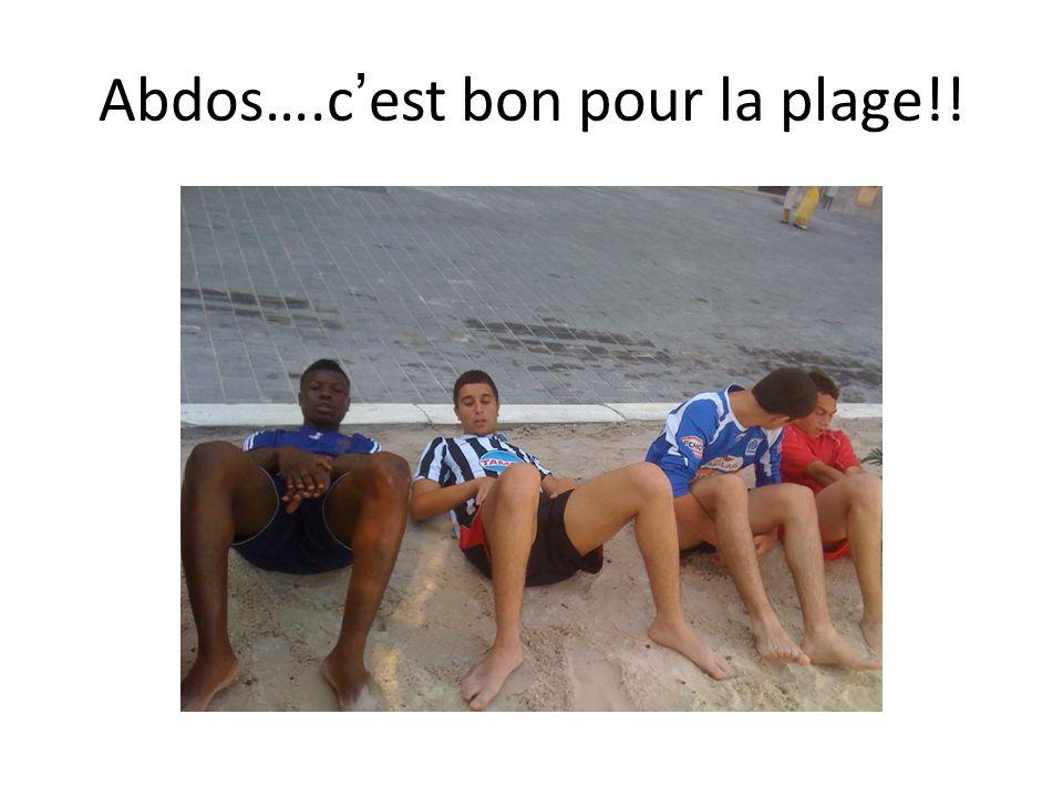 Abdos….cest bon pour la plage!!