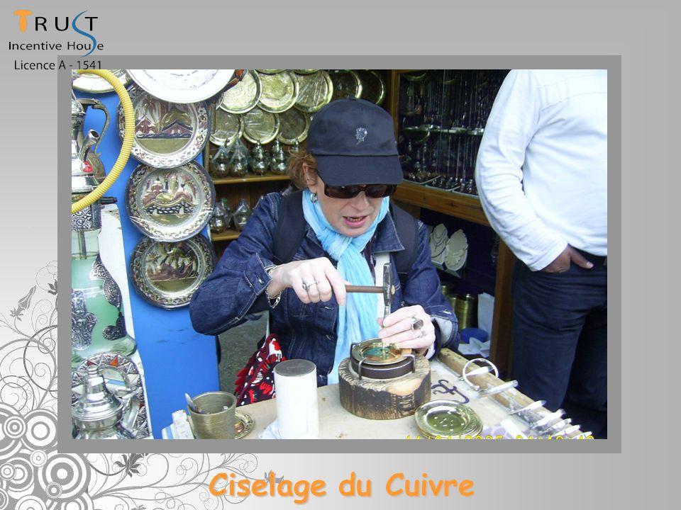 Ciselage du Cuivre