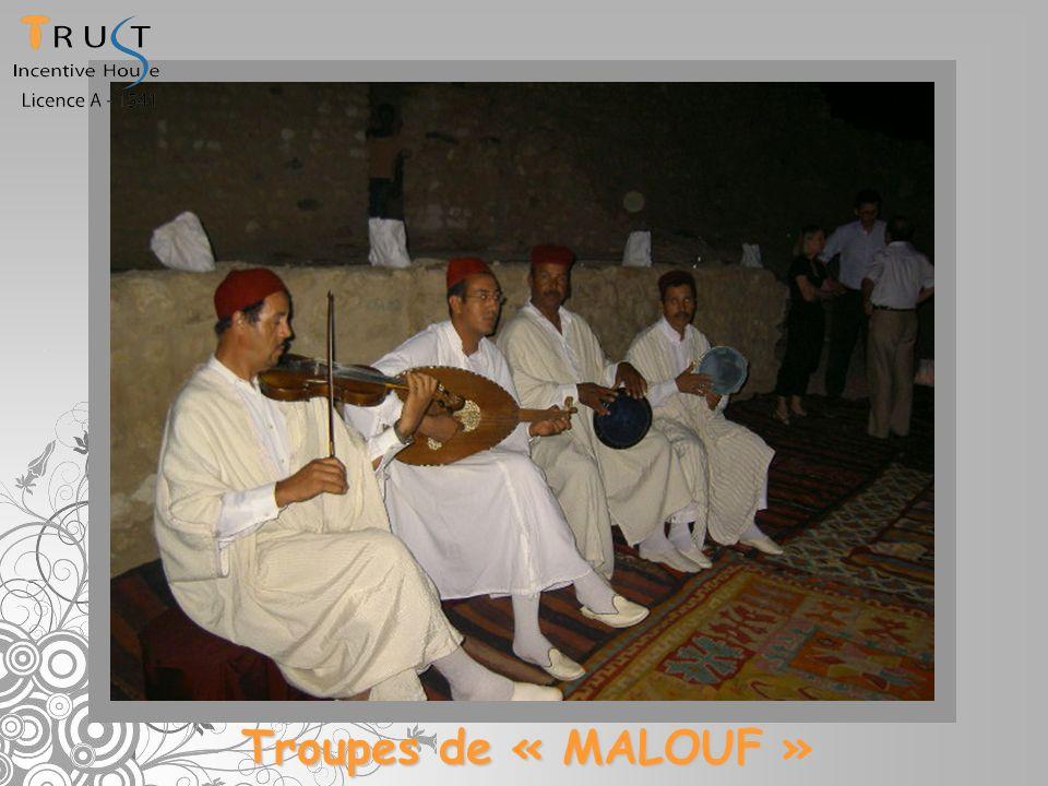 Troupes de « MALOUF »