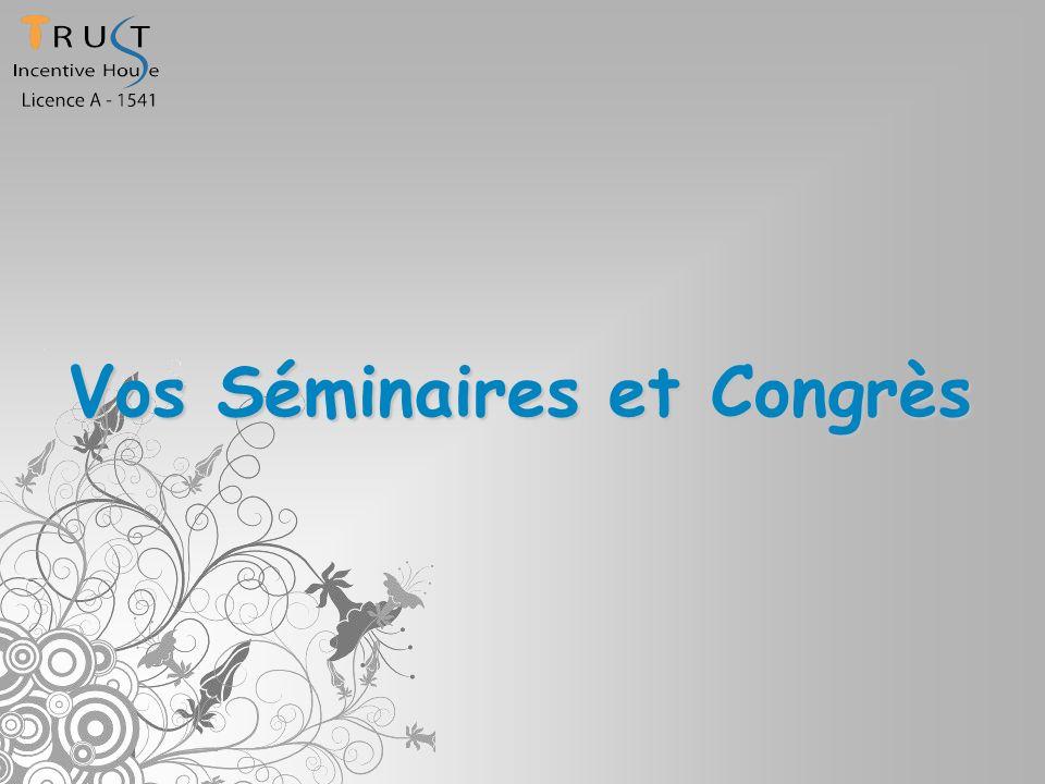 Vos Séminaires et Congrès