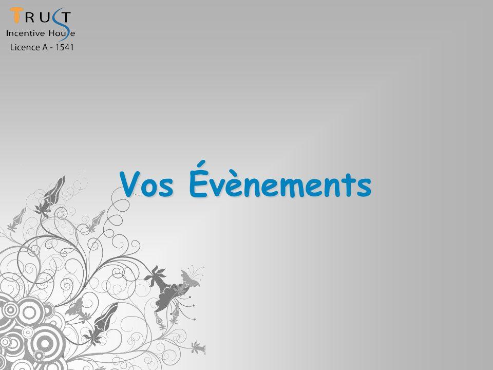 Vos Évènements