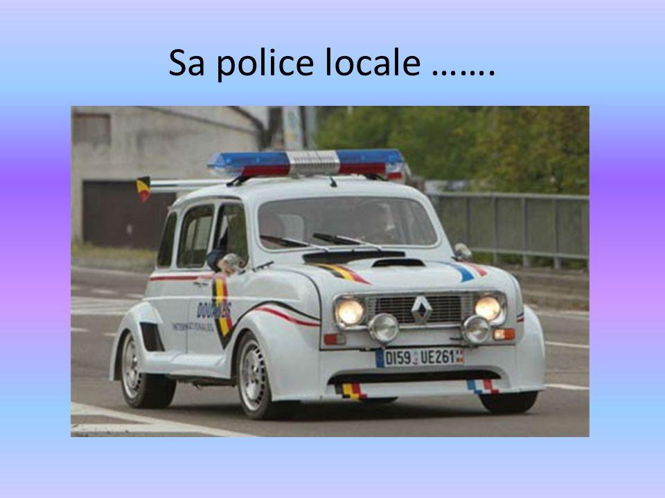 Sa police locale …….