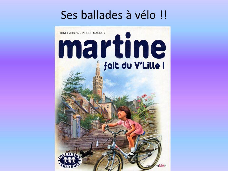 Ses ballades à vélo !!