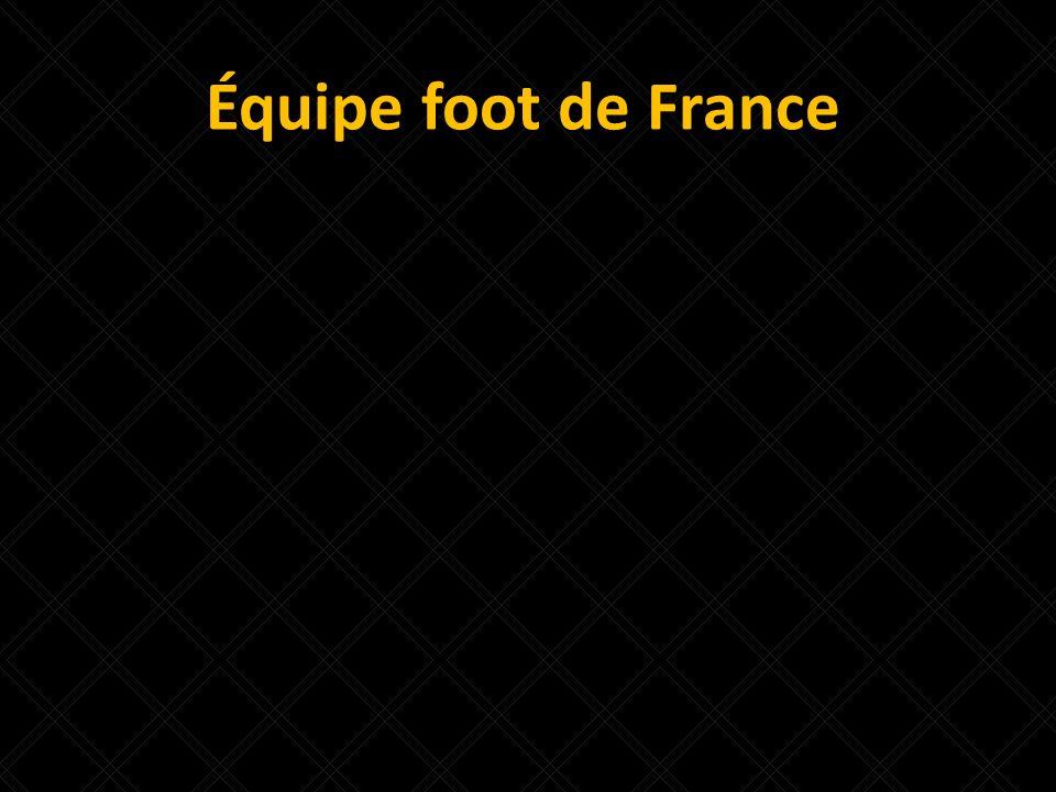 Équipe foot de France