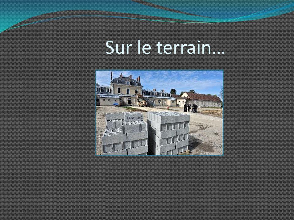 Visite du chantier de Baudens (11 février 2013 ) Descriptif : Le site Baudens présente un incomparable réseau de chauffage au gaz et une très bonne is