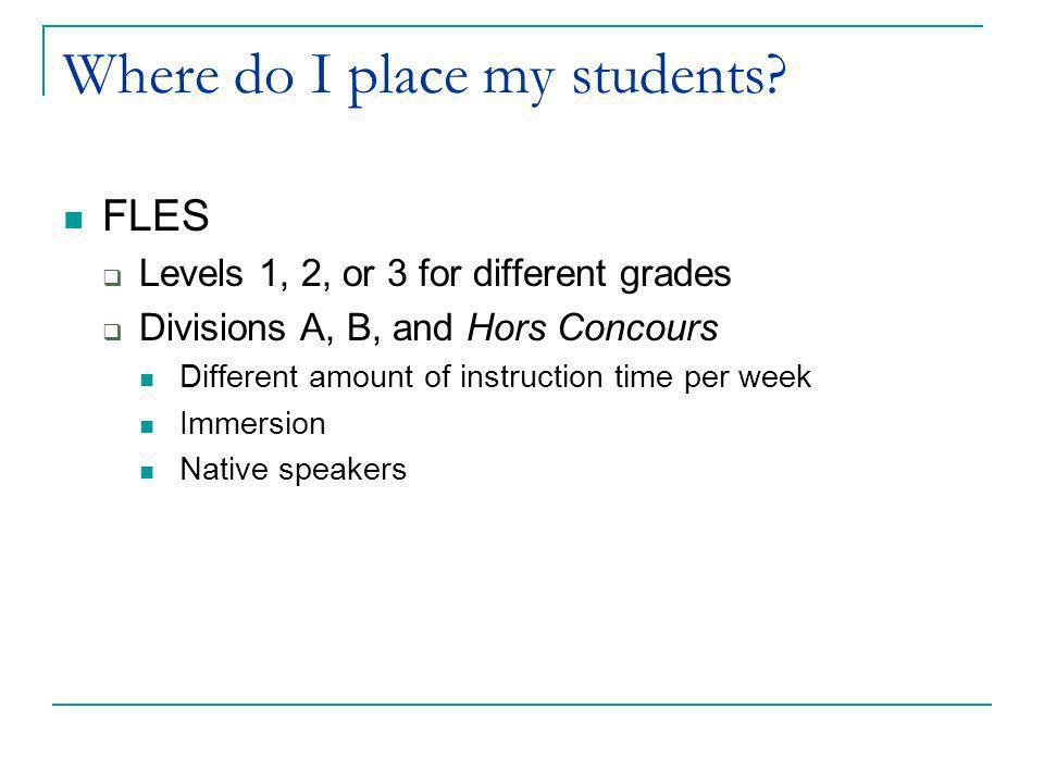Language in context Level 2 Student reads: Pauvre Paul, il panique aux examens.