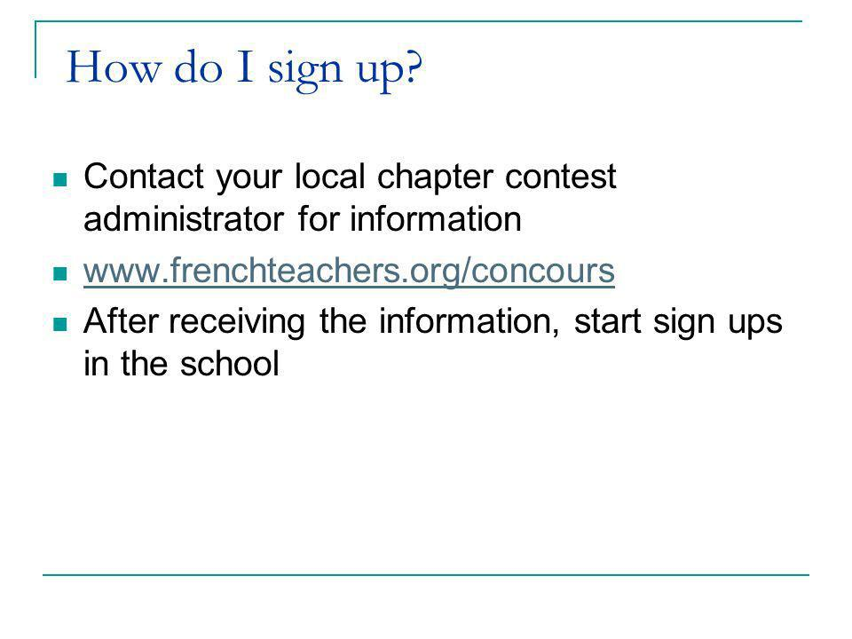 When and how can I sign up students.