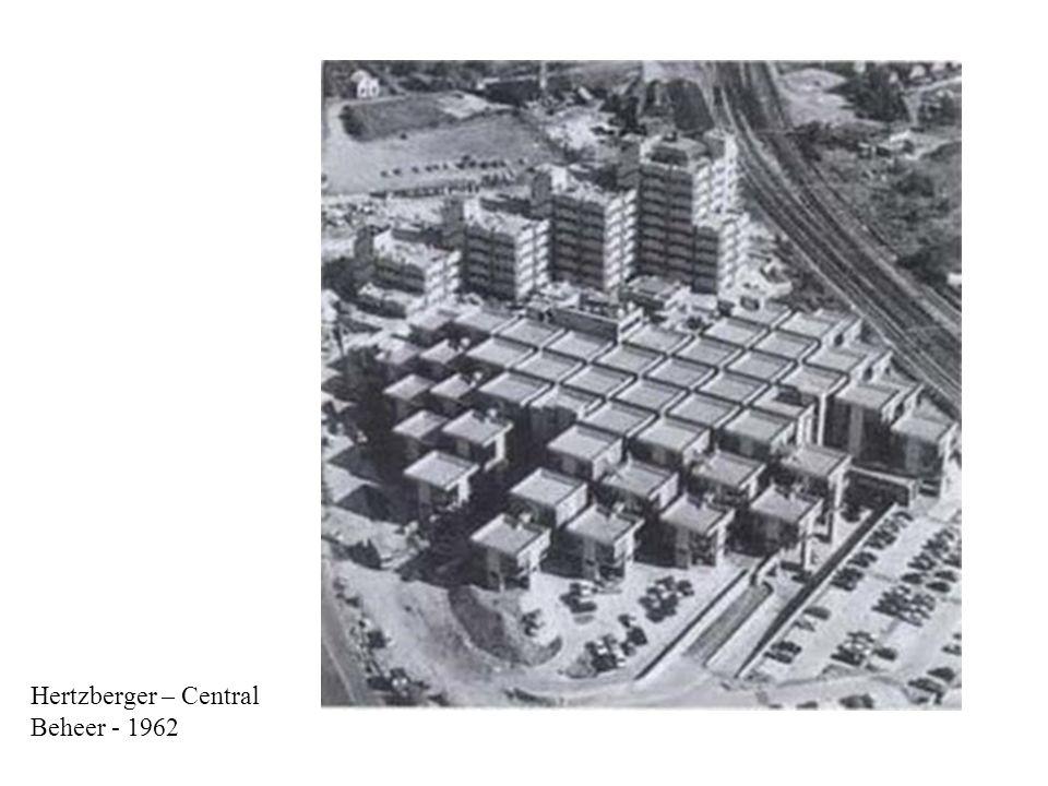 Hertzberger – Central Beheer - 1962