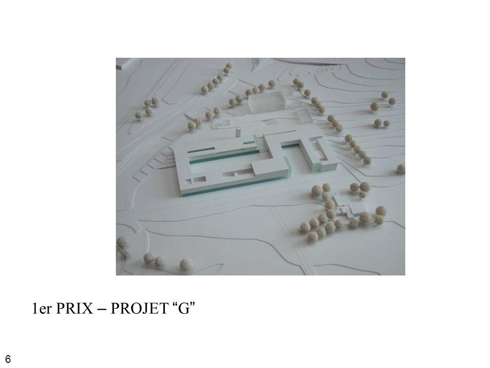 6 1er PRIX – PROJET G