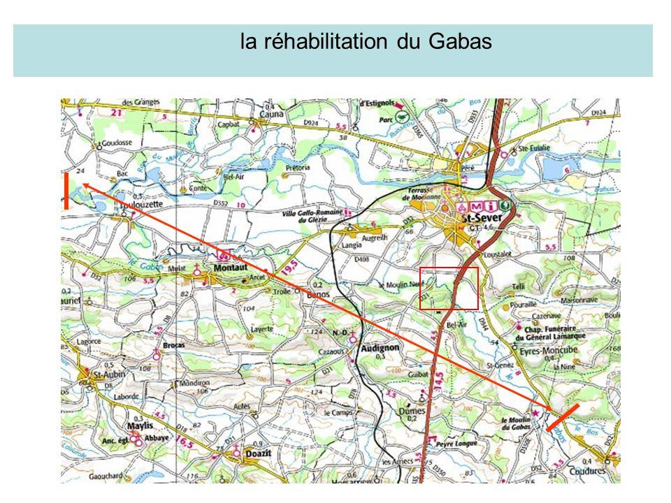 la réhabilitation du Gabas