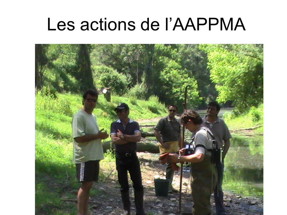 Les actions de lAAPPMA