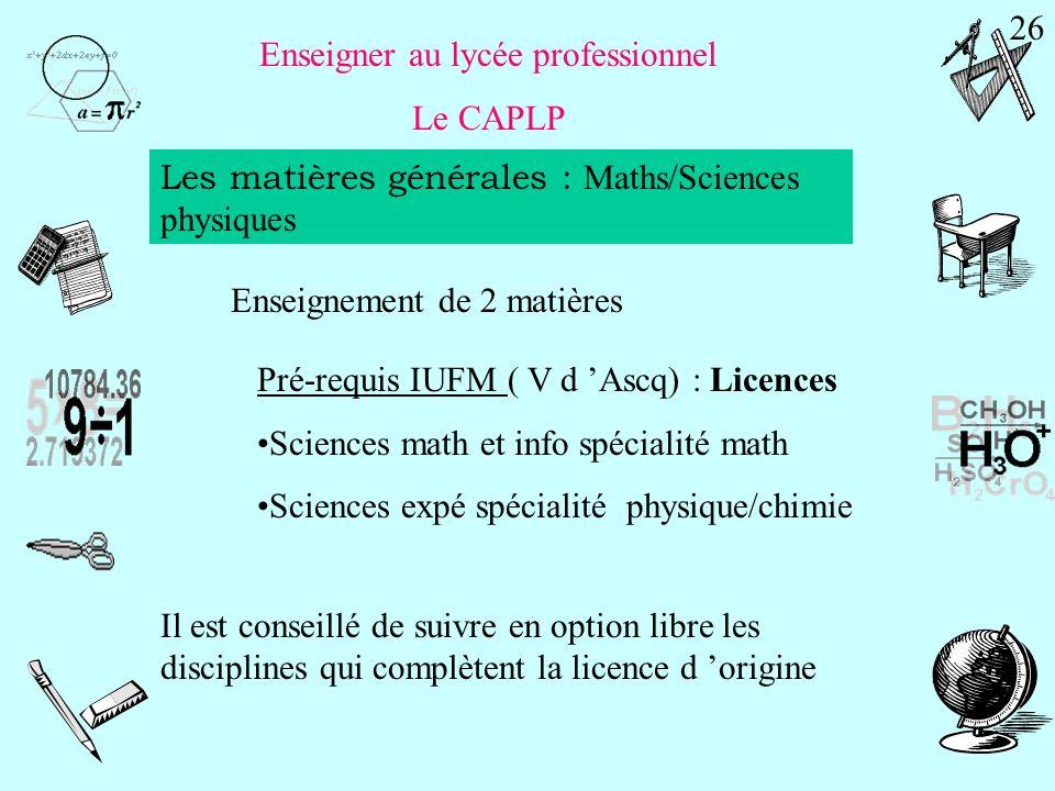 Enseigner au collège et au lycée Une discipline technologique : le CAPET CAPET Biotechnologies (option biochimie-génie biologique) PréparationEpreuve Coeff.
