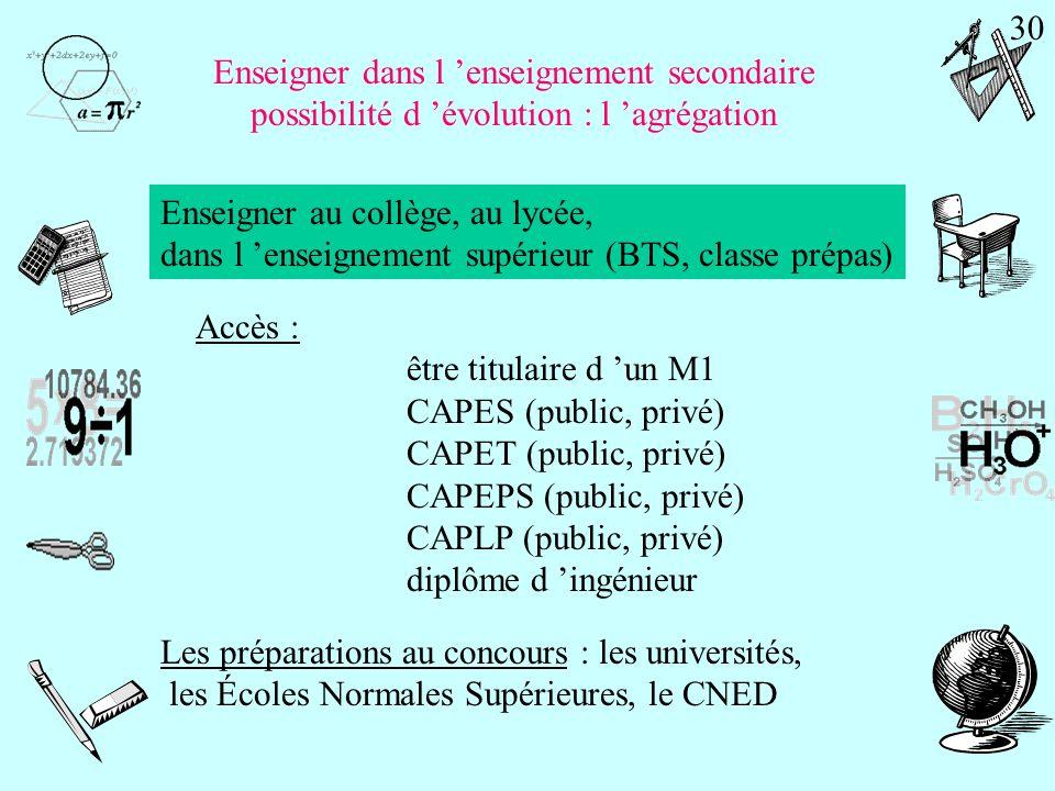 Enseigner au lycée professionnel Le CAPLP 29
