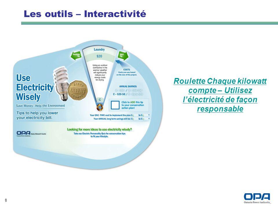 19 Coordonnées Kathryn Quail Directrice des programmes, Ventes au détail Ontario Power Authority Bureau : 416 969-6081