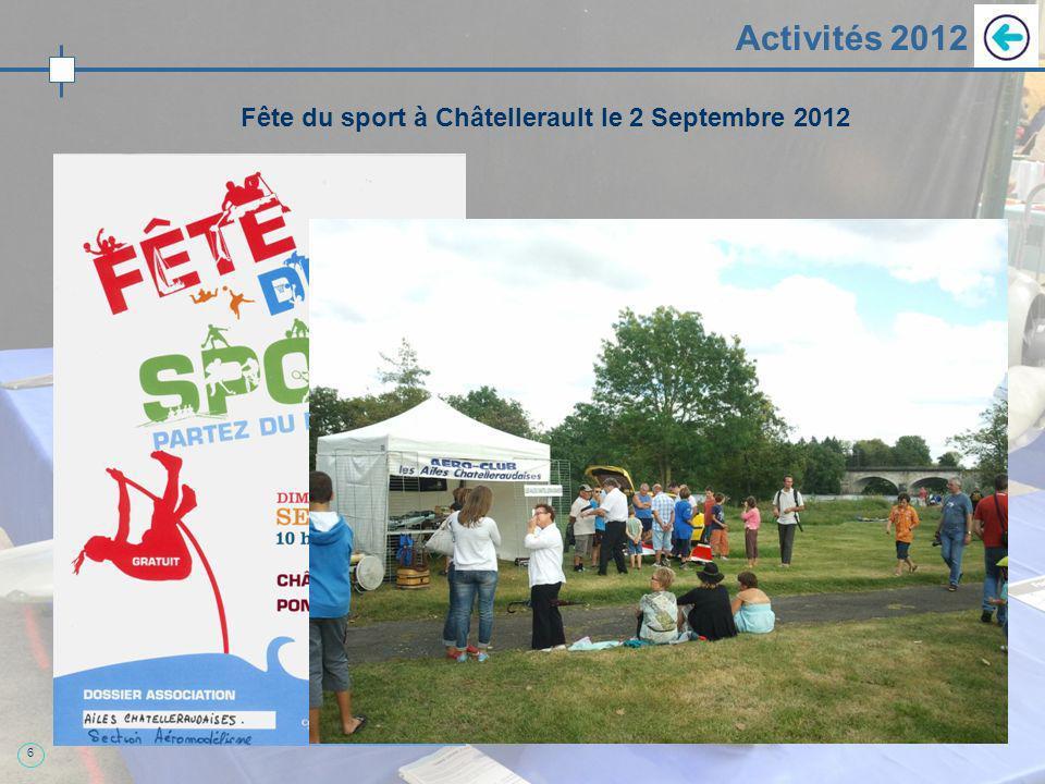 6 Activités 2012 Fête du sport à Châtellerault le 2 Septembre 2012