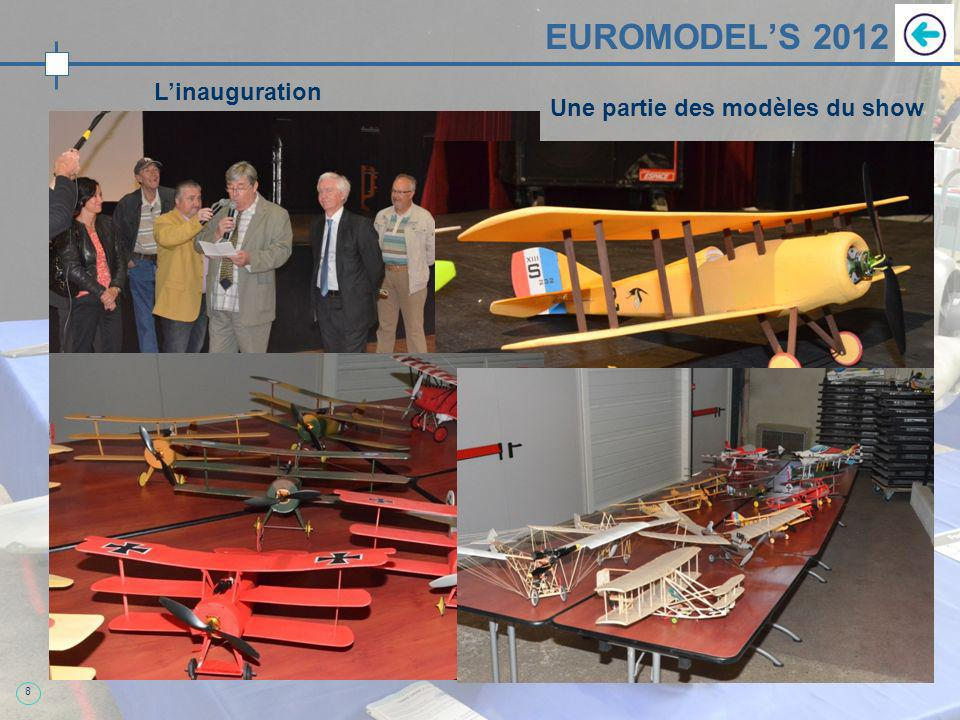 8 EUROMODELS 2012 Linauguration Une partie des modèles du show
