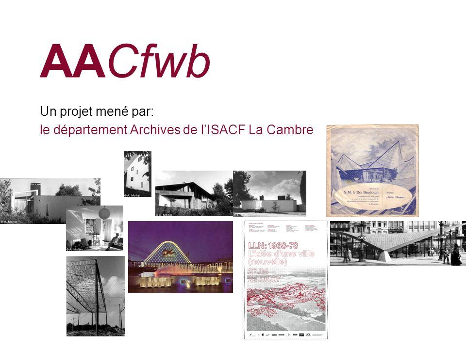 AACfwb La numérisation au sein du département Archives