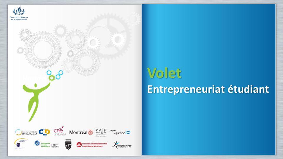 Volet Entrepreneuriat étudiant Volet