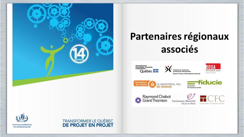 Partenaires régionaux associés Partenaires régionaux associés