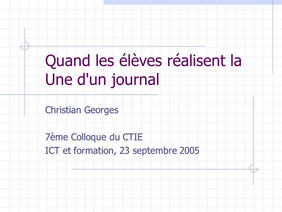 Préambule Lintérêt pédagogique du projet Lunité « Médias & TIC » de la Conférence intercantonale de linstruction publique (CIIP) Le site www.e-media.ch