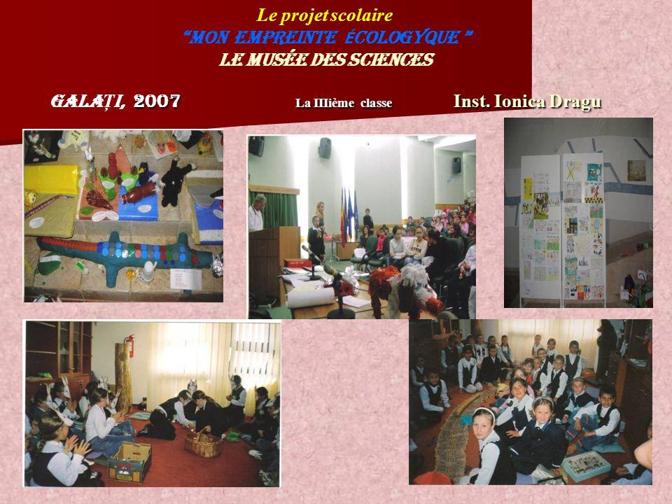 2007 La IIIime classe Inst.