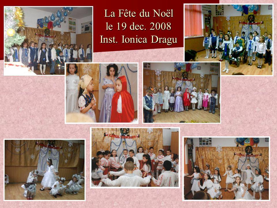 La Fête du Noël le 19 dec. 2008 Inst. Ionica Dragu