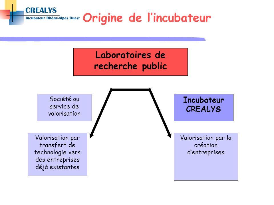 Laboratoires de recherche public Valorisation par transfert de technologie vers des entreprises déjà existantes Valorisation par la création dentrepri