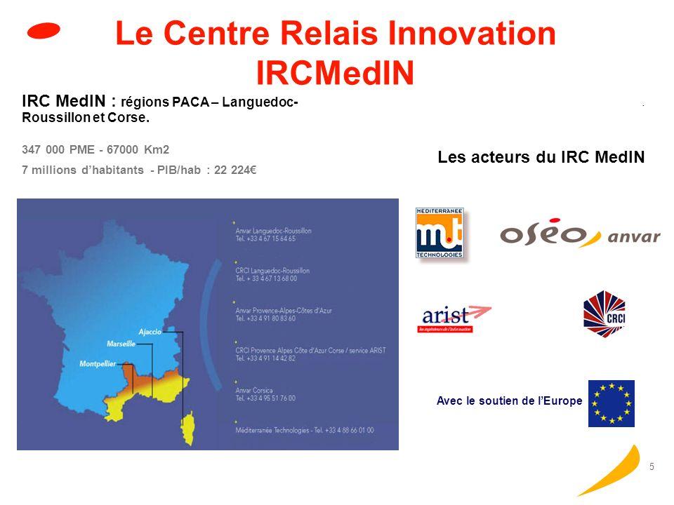 4 Le réseau des CRI pour 2004 - 2008 Réseau IRC Lancés en 1995, aujourdhui 71 le réseau CRI représente 240 organisations et implique 1250 conseillers CRI 33 pays participants : EU, Bulgaria, Romania, Turkey, Chile, Iceland, Israel, Norway, Switzerland