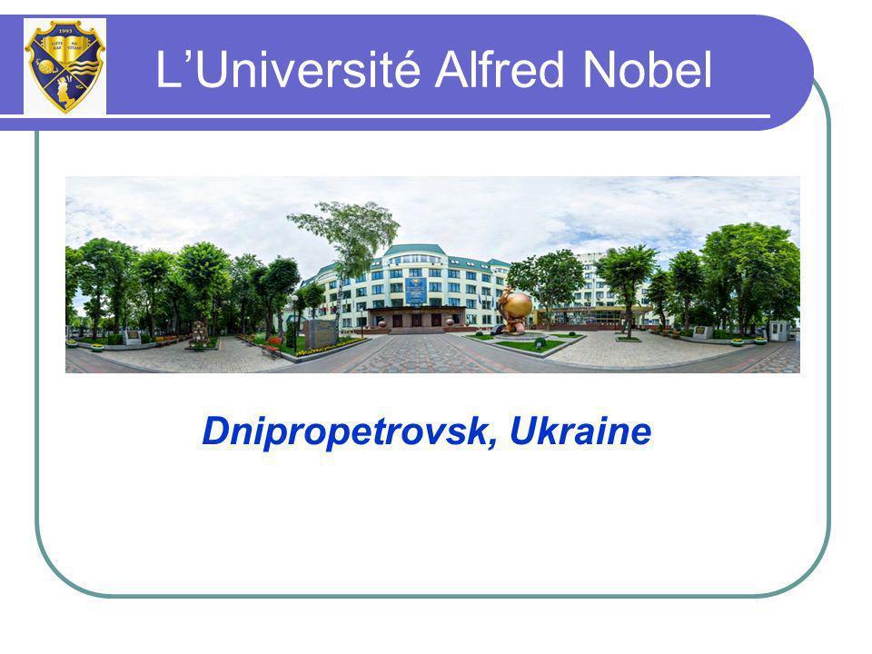 Dnipropetrovsk, Ukraine LUniversité Alfred Nobel