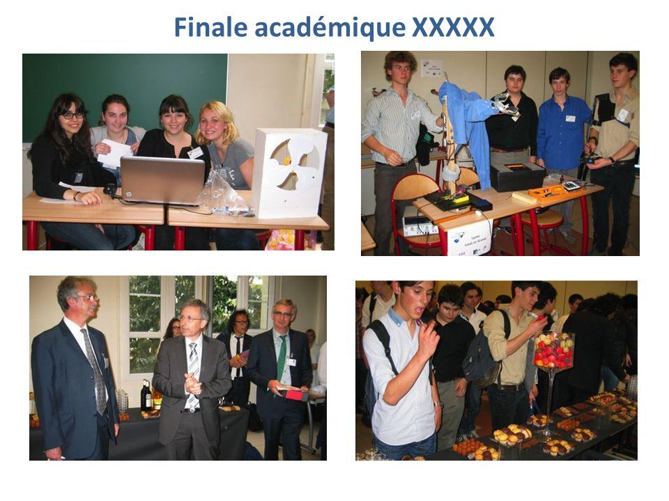 Finale académique XXXXX