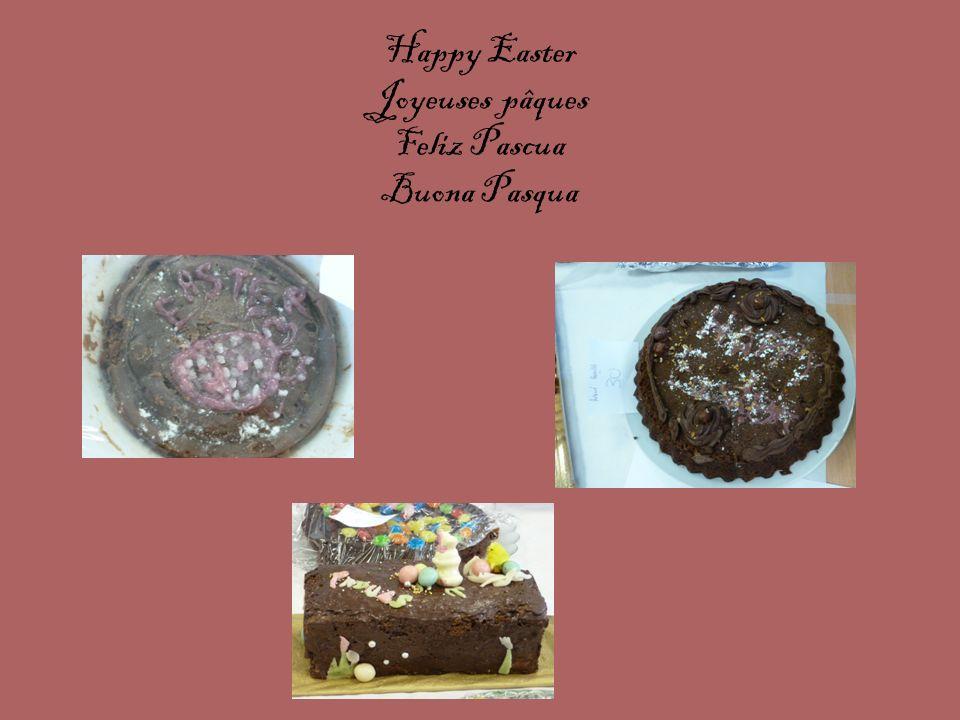 Happy Easter Joyeuses pâques Feliz Pascua Buona Pasqua