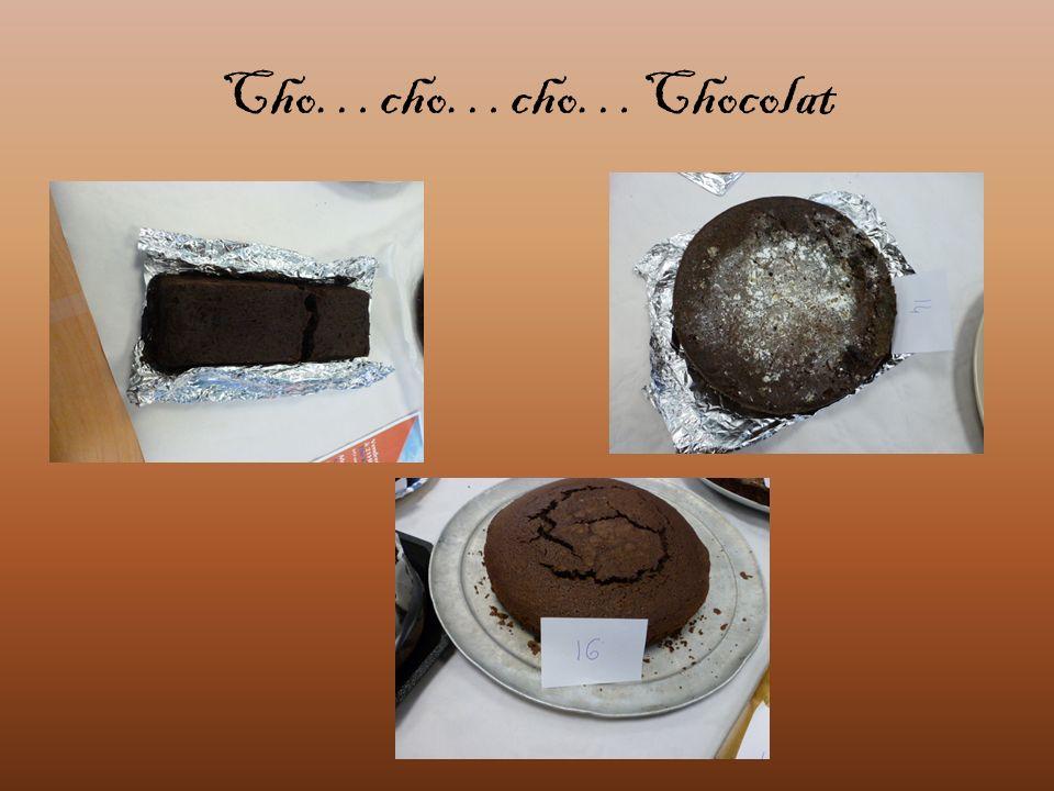 Cho…cho…cho…Chocolat