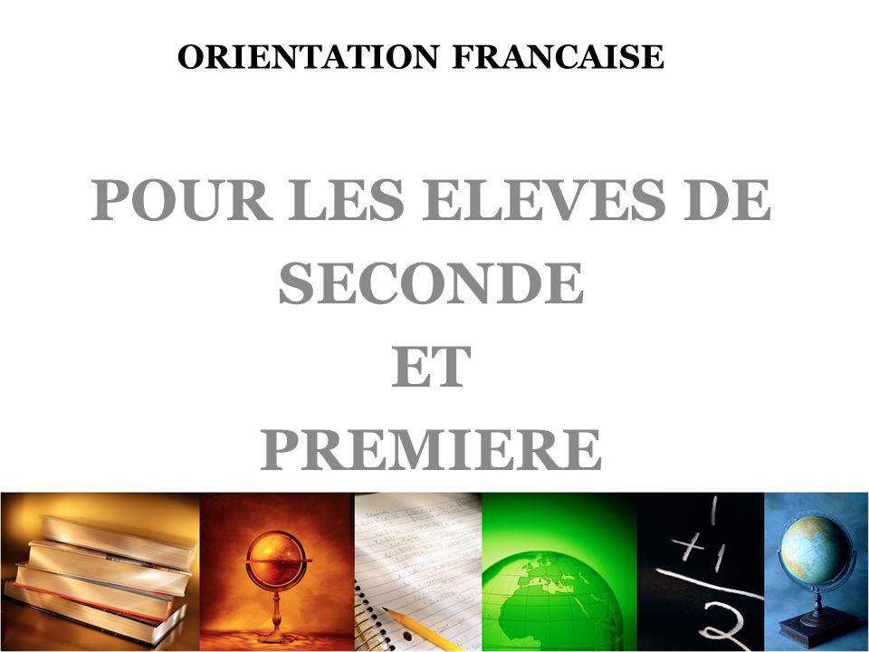 LOrientation française en chiffre
