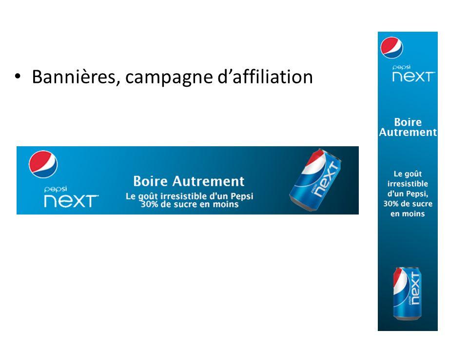 Bannières, campagne daffiliation
