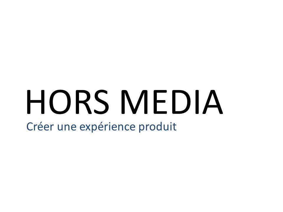 HORS MEDIA Créer une expérience produit