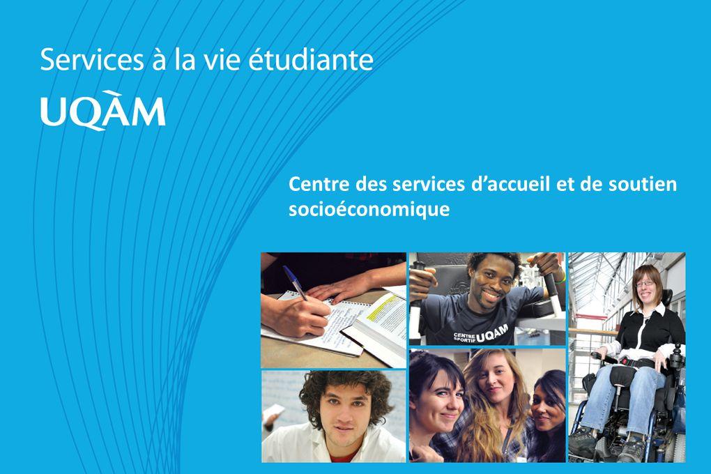 Centre des services daccueil et de soutien socioéconomique