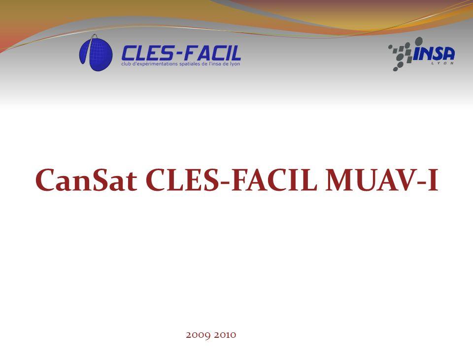 CanSat CLES-FACIL MUAV-I 2009 2010