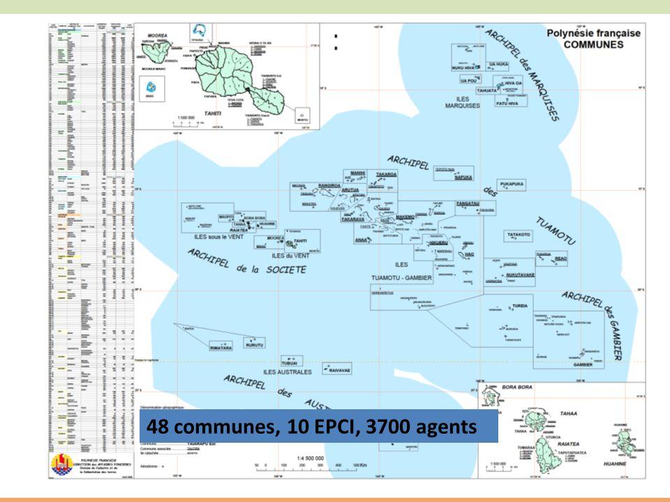 11 48 communes, 10 EPCI, 3700 agents