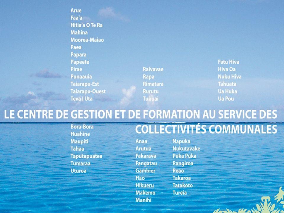 23 Un Conseil dadministration de 10 membres, qui représentent les 5 archipels Le CA vote le taux de cotisation Des compétences facultatives mutualisées Nomenclature comptable des communes M14 Les autres spécificités du CGF