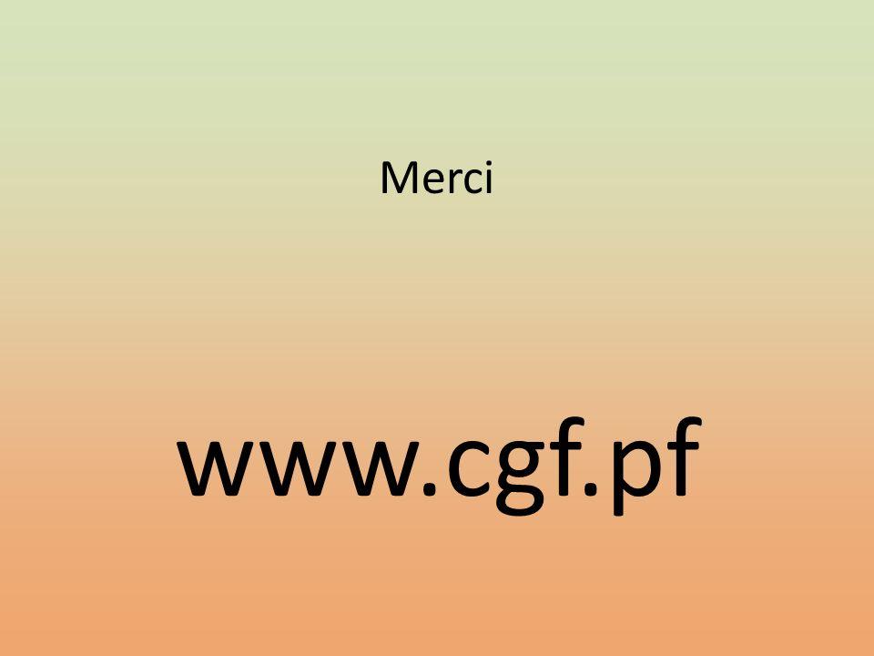 Merci www.cgf.pf