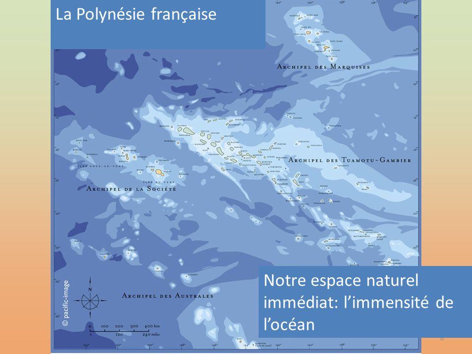 8 Notre espace naturel immédiat: limmensité de locéan La Polynésie française