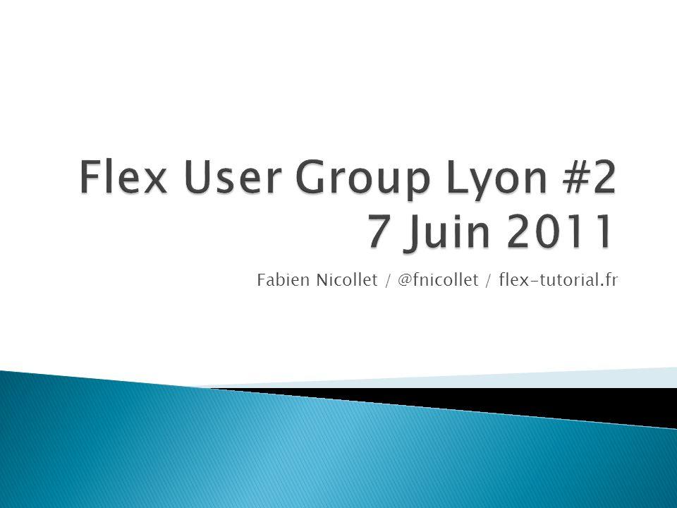 Fabien Nicollet / @fnicollet / flex-tutorial.fr