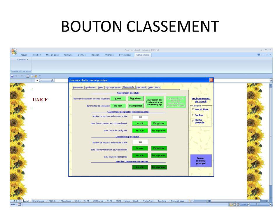 BOUTON CLASSEMENT