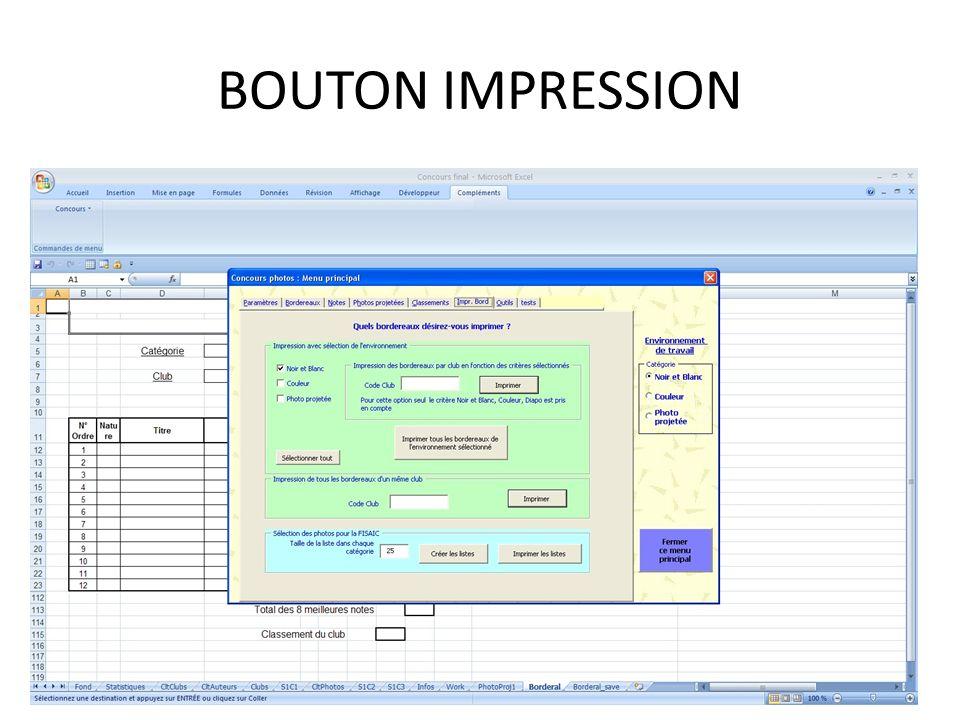 BOUTON IMPRESSION