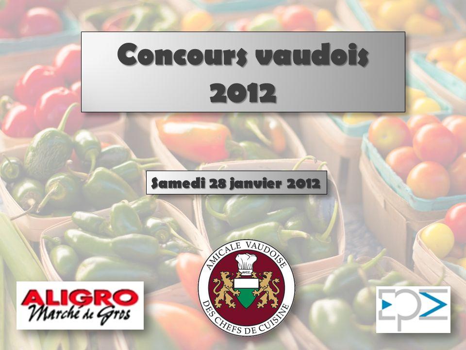 Concours vaudois 2012 Samedi 28 janvier 2012